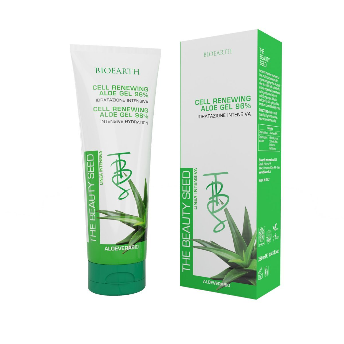 TBS Cell Renewing Aloe Gel 96% Idratazione Intensiva