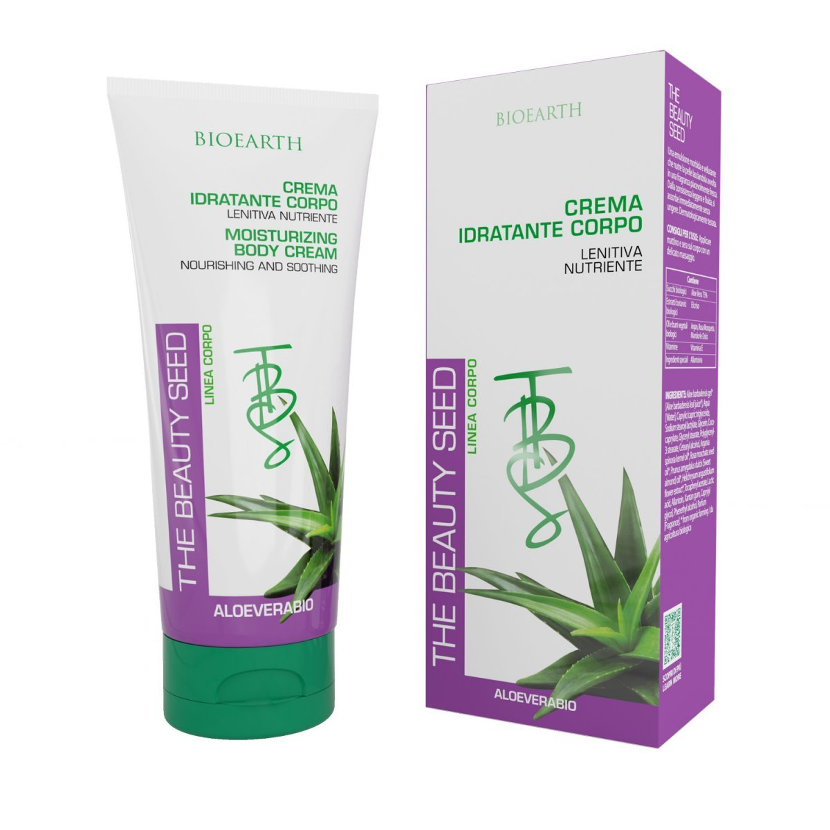 The Beauty Seed Moisturizing Body Cream with Aloe
