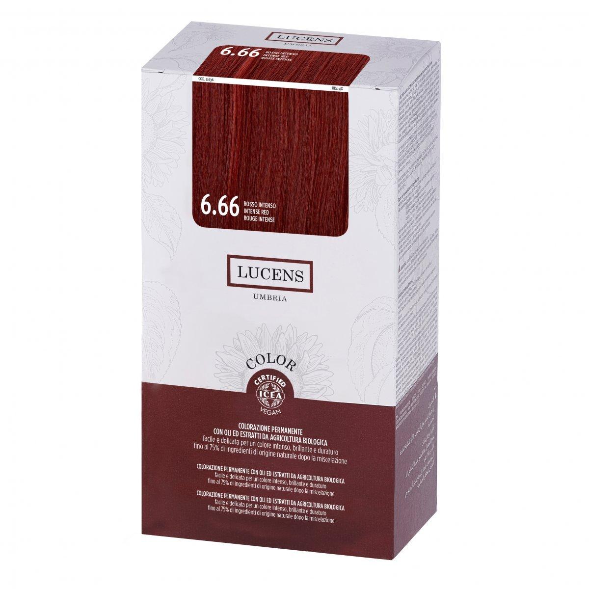 Tinta per Capelli 6.66 Rosso Intenso