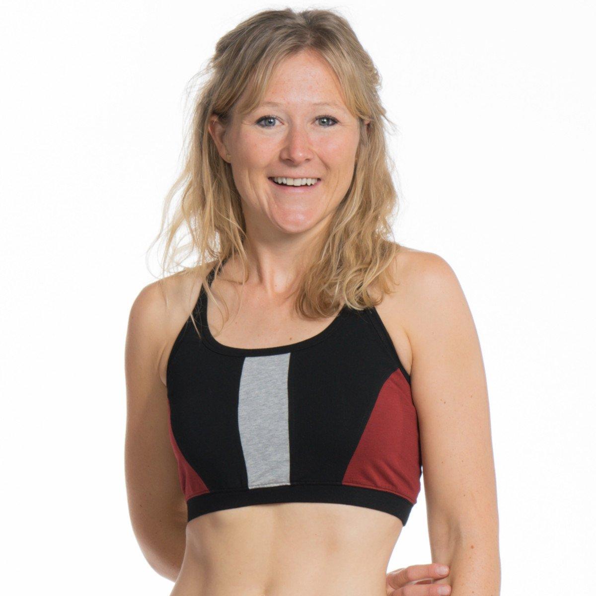 Top Reggiseno Yoga Sport in cotone bio-equo