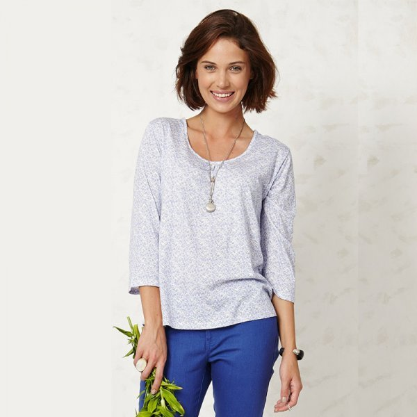 Trixie top in bamboo