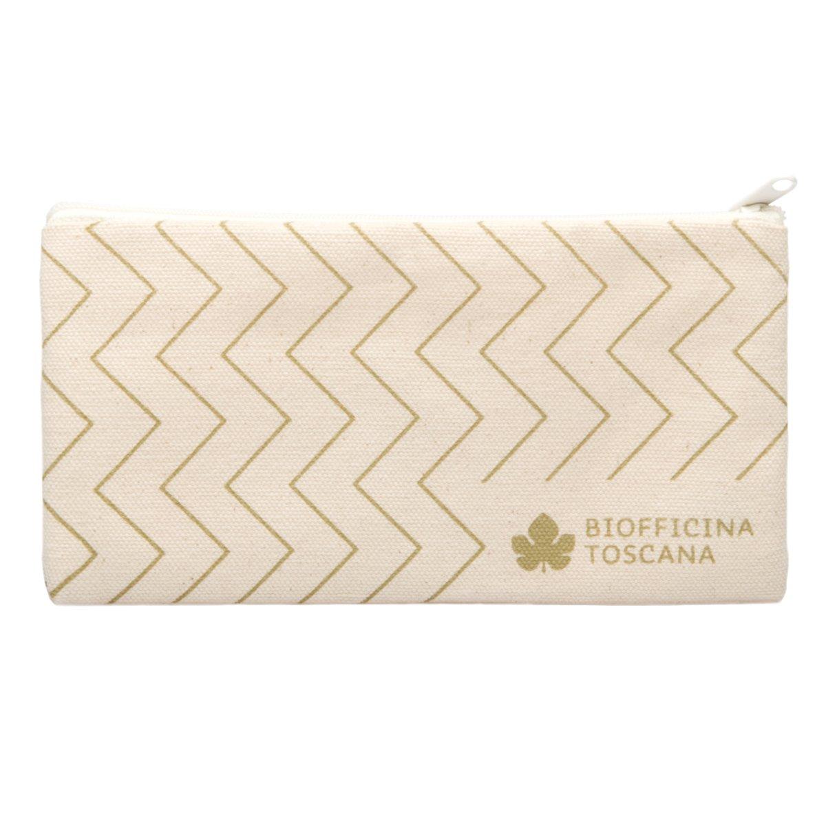 Trousse zig zag in cotone Biofficina Toscana