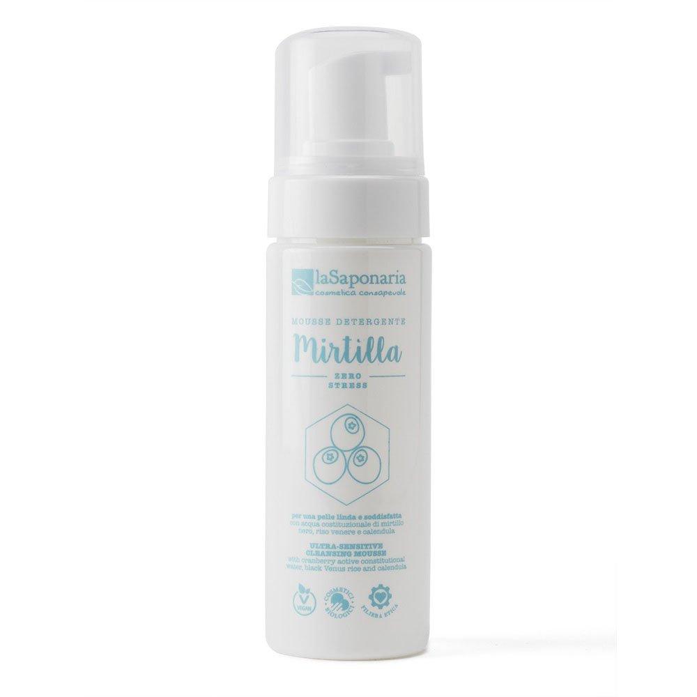 Ultra sensitive cleansing mousse Mirtilla