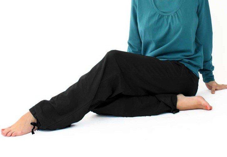 Unisex jogging pants in organic cotton