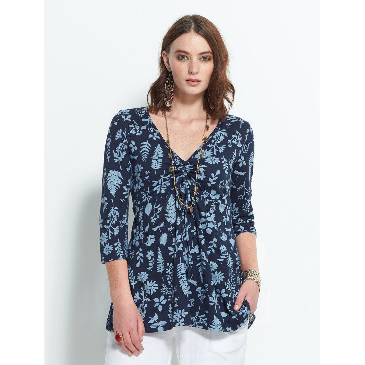 Organic Ruched Top