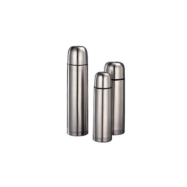 Vacuum flask in stainless steel