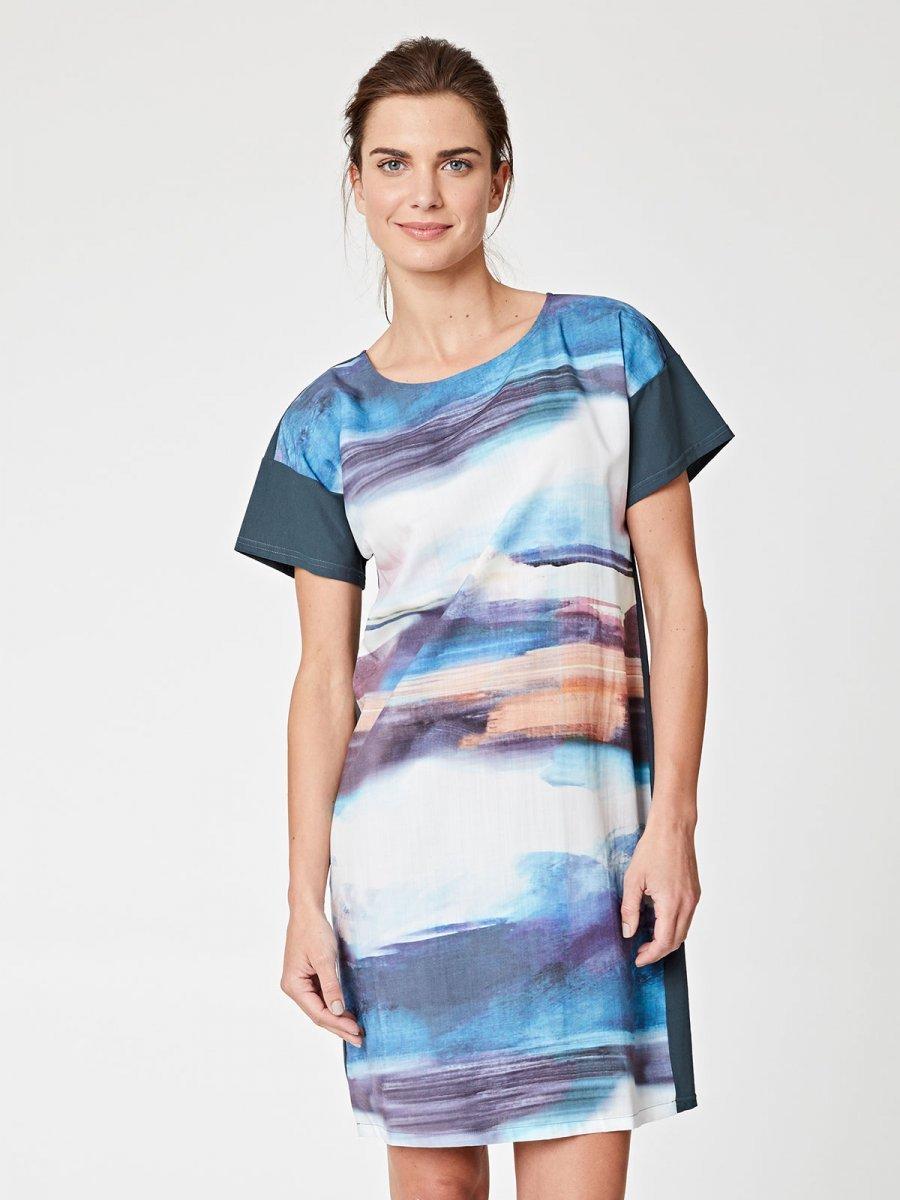 Vestito Mar dei Sargassi in Tencel e Cotone Bio