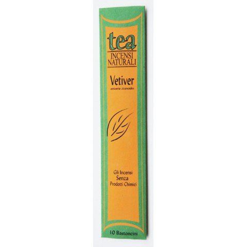 Vetiver natural incense sticks