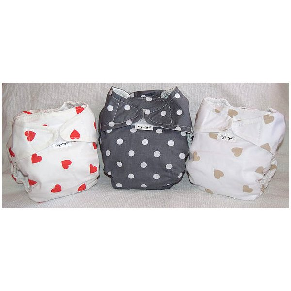 Kit washable diapers Agunga - Coccole Line