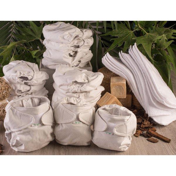 Kit washable diapers Agunga - Basic Line