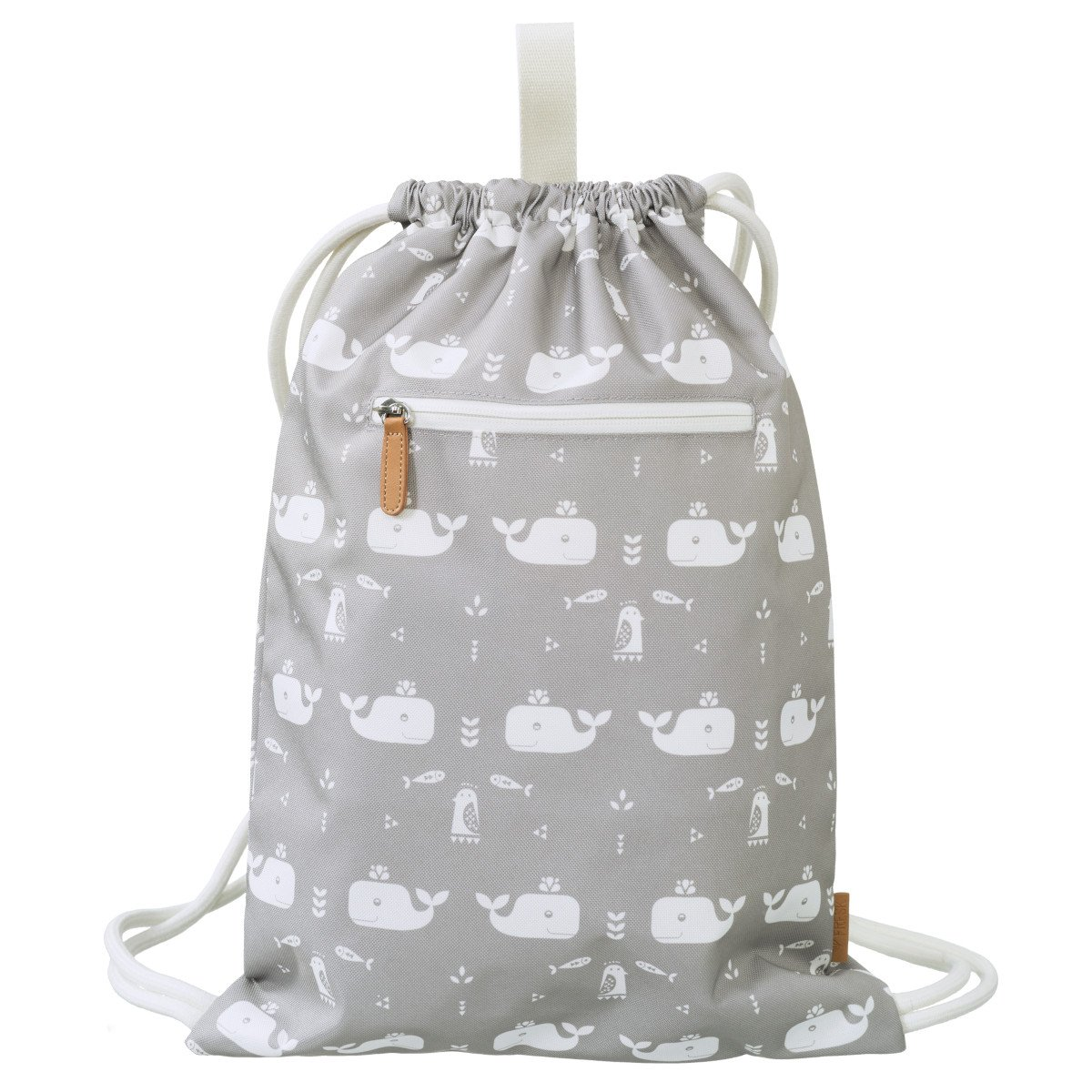 Waterproof Grey Whale Fresk Bag for Children and Sports