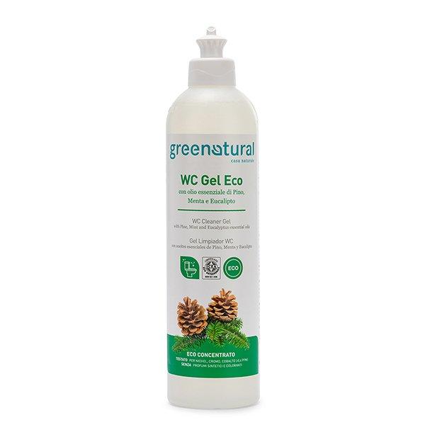 Detersivo WC Gel EcoBio Disincrostante 3 in 1 Greenatural