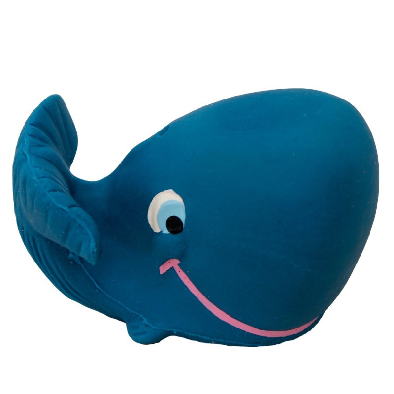Blue whale Lanco in natural rubber