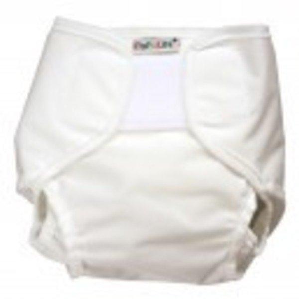 White pants diaper cover PopoWrap