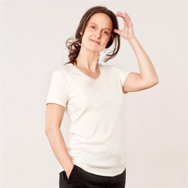 Woman  t-shirt in organic cotton