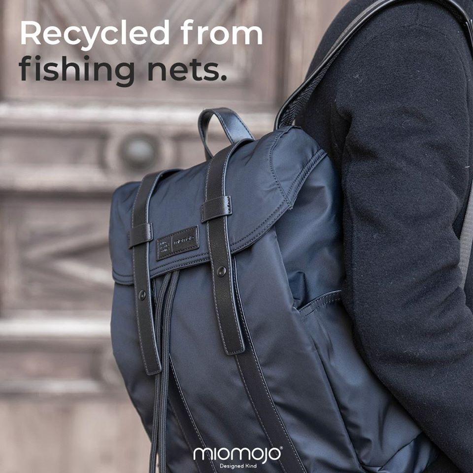 Zaino Vegan ORLANDO impermeabile in nylon riciclato
